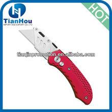 2013 new folding Utility Knife with aluminium case