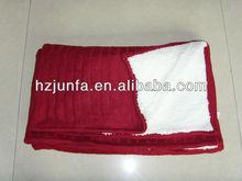 fashional newest design hot popular elegant warm chunky jacquard knit blanket
