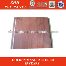 wood grain laminated pvc false ceiling decoration