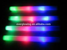 48CM Multi color flashing led glow foam sticks customized logo printed