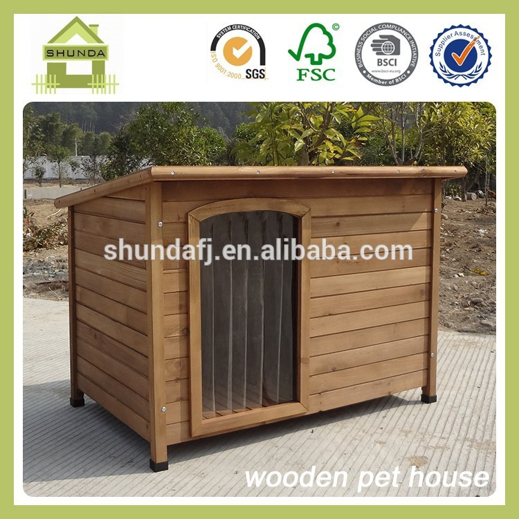 Sdd06 de madera respetuoso del medio ambiente del perro de la perrera