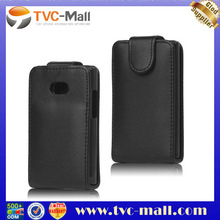 Vertical Leather Flip Case for LG Optimus L3 E400