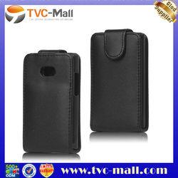 Vertical Leather Flip Case for LG Optimus L3 E400
