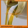 El aceite de la serie reclaimation de zsa utilizado negro los residuos de aceite de auto de refinación/regeneradora/máquina de reciclaje