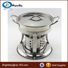 stainless steel alcohol stove Chafing Dish