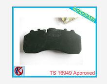 Quality assured Brake pad WVA 29087 semi-metallic formulation