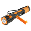 Emergency hammer and knief Emergency hammer with cutter light compass torch beacon light