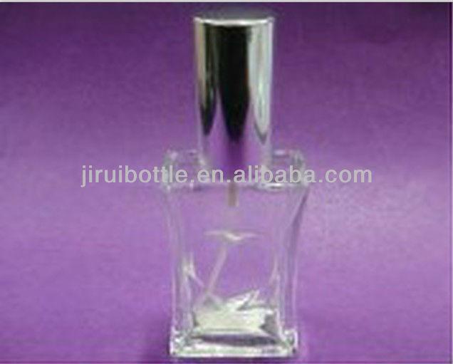 30 ml vide parfum bouteille en verre avec pompe de pulvérisation