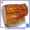 Hot Sale Superior Yellow CZ Rough rough uncut gemstones