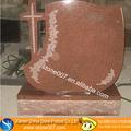 a grade natürliche rotem granit grabstein
