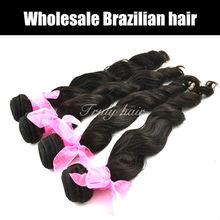 Natural brown! 100% Brazilian hair weaving
