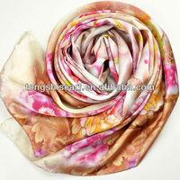 luxry digital print scarves silk