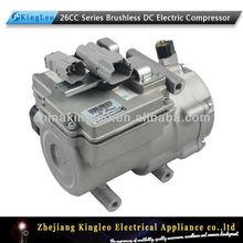 vdc 48 dc mini compresor de aire acondicionado para coches eléctricos