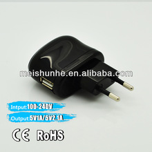 Factory Direct Sell 5V 2A USB Wall charger for Samsung Galaxy S3
