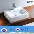 Gt-5686 nuevo diseño sanitarios lavabo rectangular