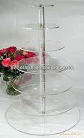 6 TIER ROUND cupcake wedding cake stand