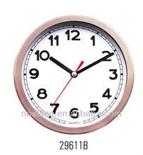6 inch Metal Clock,aluminium wall clock