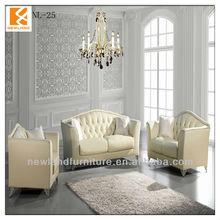 Shunde Newland manufacturer modern leather high class sofa NL-S25