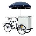 2013 atualizado bateria solar sorvete freezer, triciclo elétrico, portable com freezer 12v, freezer elétrico triciclo