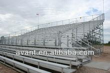 five rows mobile soccer,football,basketball angle frame bleacher,aluminum freestanding tribune for sports