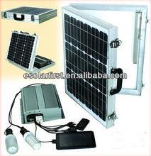 60w Portable solar kit/Folding solar charge kits factory production