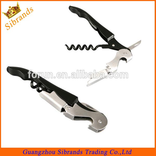 Pulltap Waiters Friend Double Up Corkscrew /Wine Bottle Opener/seahorse shape bottle opener