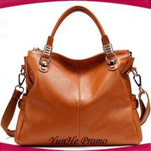 fashion colorful lady genuine leather bags handbag