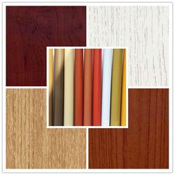 Size 0.12-0.5mm woodgrain decorative pvc laminating material