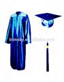 brillante de alta graduación de la escuela de la tapa y el vestido