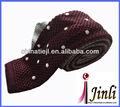 bordado personalizado punto corbata de diseño nuevo empate