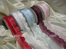 Wedding cake Decoration Ribbon- Rose pattern
