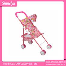 Sl-044 billige neue 2014 babypuppe kinderwagen kinderwagen für kinder werbegeschenk custom neue design großhandel netzteil spielzeug hochwertige
