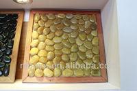 pebblt tile, swimming pool tile, customized pebble tile