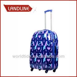 Beautiful Purple Design Business Trolley Bag