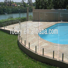 SELL 4 5 6 8 10 12mm high quality glass fence tempered glass fence panels