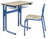 wooden student desk and chair,school set,school desk