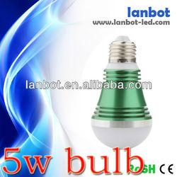 2013 Hot sales 5w led light bulb ztl