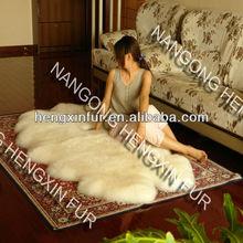 Australian natura sheep skins rug/sheepskin rug