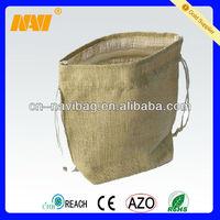burlap pouches