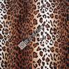 100% Polyester leopard print velvet fabric