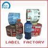 Taizhou pvc heat shrink energy drinks label