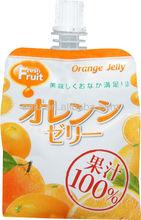 100% orangensaft gelee trinken