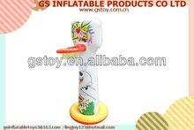 PVC inflatable basketball hoop EN71 approved
