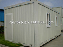 prefabricated mobile site office container