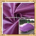 100% tafetán del poliester camo a prueba de agua cubierta del coche de tela de tela a prueba de agua de la tela