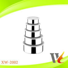 hot sale 5pcs Stainless Steel Food Storage Container with lid