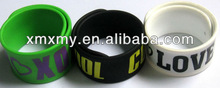Make Personalized Silicone Slap Bracelets for 2012