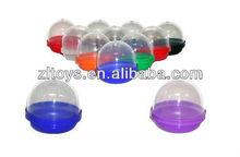 vending plastic empty egg capsule