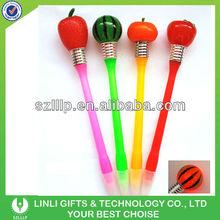 Fruite Shape Plastic Promotional Light Pen