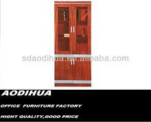 Hot sale two doors modern wooden book shelf 09B-2